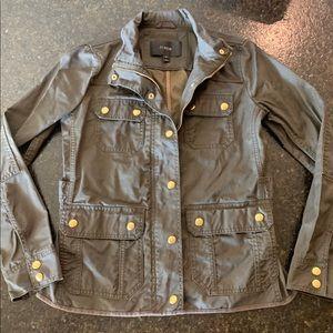 Jcrew: The Downtown Field Jacket - Olive XS